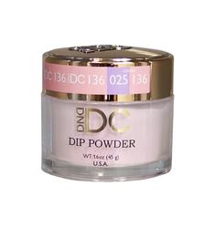 DND DC Dip Powder - #DC136- Geranium Pink