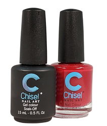 Chisel Matching Gel + Lacquer 0.5 oz - Solid 01