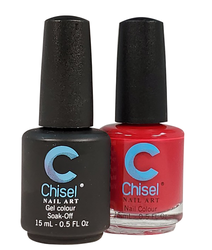 Chisel Matching Gel + Lacquer 0.5 oz - Solid 04