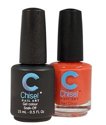 Chisel Matching Gel + Lacquer 0.5 oz - Solid 08