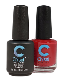 Chisel Matching Gel + Lacquer 0.5 oz - Solid 09