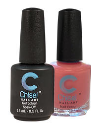 Chisel Matching Gel + Lacquer 0.5 oz - Solid 17