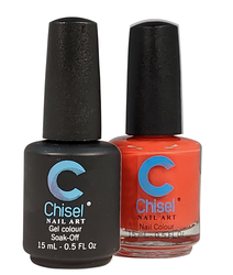 Chisel Matching Gel + Lacquer 0.5 oz - Solid 84