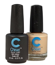 Chisel Matching Gel + Lacquer 0.5 oz - Solid 91