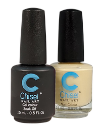 Chisel Matching Gel + Lacquer 0.5 oz - Solid 100