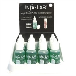 InfaLab Liquid Styptic Skin Protector 0.5oz  Case (12 pcs)