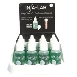 InfaLab Liquid Styptic Skin Protector 0.5oz  Case (12 pcs)