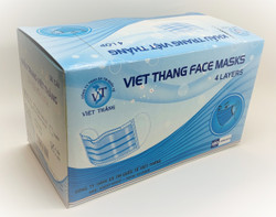Disposable Face Mask 50 PC  - 4 Ply