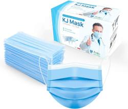 KJ Disposable Face Mask 50 pcs  - 4 Layers