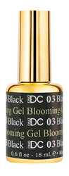 DND - DC BLOOMING GEL #DC03 - BLACK