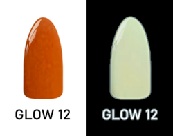 CHISEL 2IN1 ACRYLIC & DIPPING 2OZ - NEON GLOW IN THE DARK COLLECTION -GLOW12