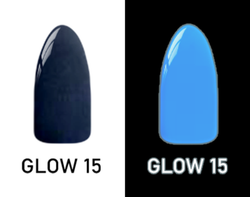 CHISEL 2IN1 ACRYLIC & DIPPING 2OZ - NEON GLOW IN THE DARK COLLECTION -GLOW15