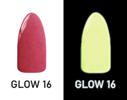 CHISEL 2IN1 ACRYLIC & DIPPING 2OZ - NEON GLOW IN THE DARK COLLECTION -GLOW16