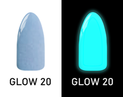 CHISEL 2IN1 ACRYLIC & DIPPING 2OZ - NEON GLOW IN THE DARK COLLECTION -GLOW20