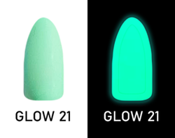 CHISEL 2IN1 ACRYLIC & DIPPING 2OZ - NEON GLOW IN THE DARK COLLECTION -GLOW21