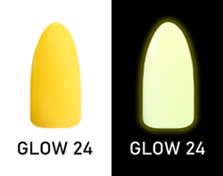 CHISEL 2IN1 ACRYLIC & DIPPING 2OZ - NEON GLOW IN THE DARK COLLECTION -GLOW24