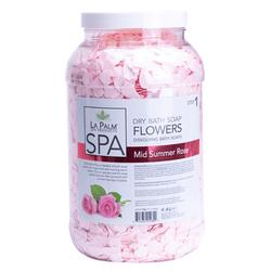 La Palm Dry Bath Soap Mid Summer Rose - 1 Gallon (128 oz)