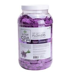 La Palm Dry Bath Soap Sweet Lavender Dreams  - 1 Gallon (128 oz)