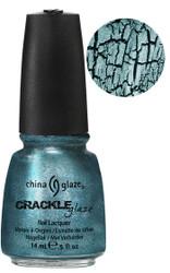 Oxidized Aqua Crackle 0.5 Fl. Oz