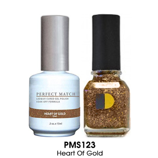 Perfect Match Duo -  HEART OF GOLD (Gel + Lacquer)
