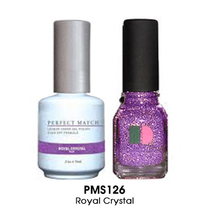Perfect Match Duo - ROYAL CRYSTAL  (Gel + Lacquer)