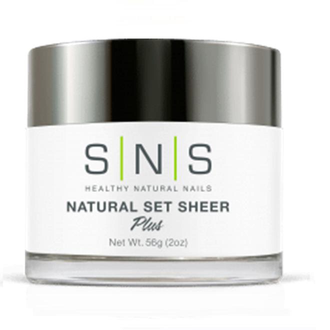 SNS Natural Set Sheer Powder