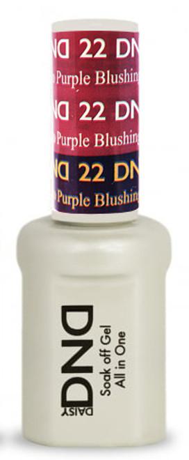 #22 - DND Mood Gel - Blushing To Purple 0.5 oz