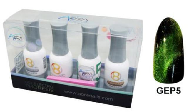 Aora 3D GEP Gel Kit Color Electro Phoresis Kit # 5 Eden of Zeleny