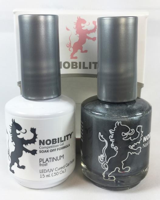 Lechat Nobility Gel and Polish Duo - Platinum (0.5 fl oz)