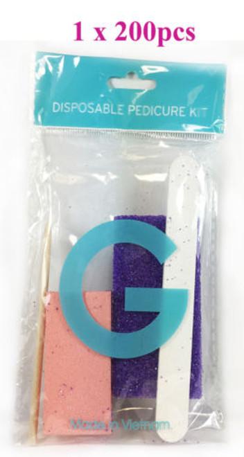 G-Disposable Pedicure Pumice Kit  - 200pcs
