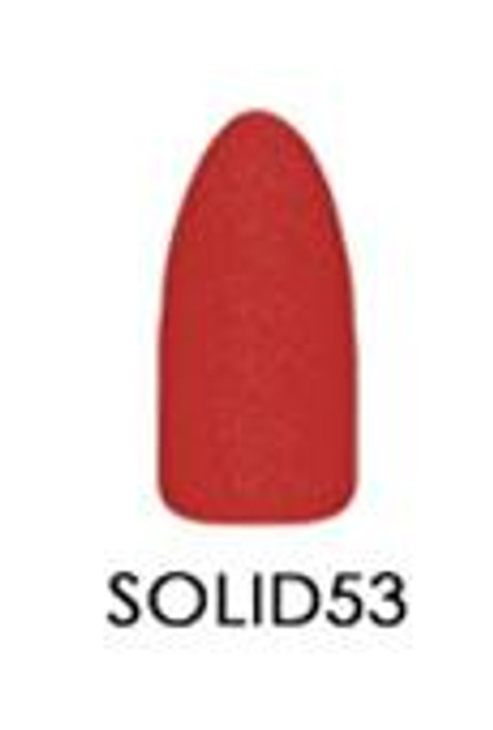 CHISEL 2IN1 ACRYLIC & DIPPING 2OZ - SOLID COLLECTION -#SOLID 53