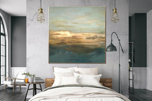 Painting On Canvas Gold Foil Artwork Acrylic Painting Wall Painting Contemporary Abstract Artwork Home Decor Large Abstract