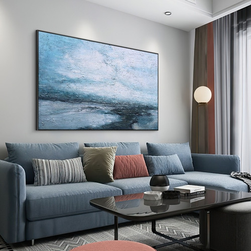 Hand Painted Oil Paintings on Canvas Modern Abstract  Landscape Art Picture For Living Room Home Decor No Frame