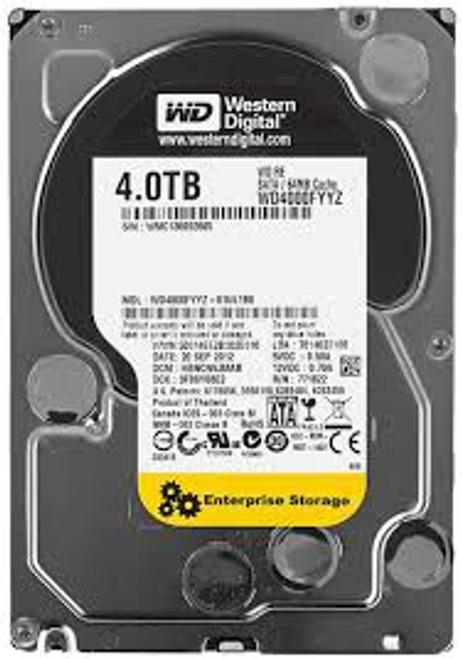 "Western Digital WD4000FYYZ Re 4TB Datacenter Capacity 7200RPM Class SATA 6Gb/s 64MB Cache 3.5"" - New"