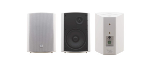 "Kramer Electronics GALIL-6-O(PAIR)/BLACK 6.5"" On-Wall 2-Way Speakers"