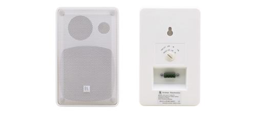 "Kramer Electronics GALIL-4-O(PAIR)/WHITE 4"" On-Wall 2-Way Speakers"