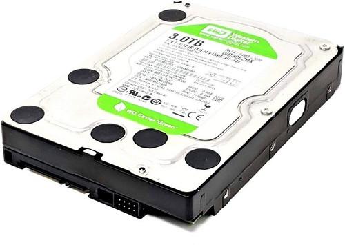 """WD Green WD30EZRX 3TB IntelliPower 64MB Cache SATA 6.0Gb/s 3.5"""" Internal Hard Drive - New Bulk"""