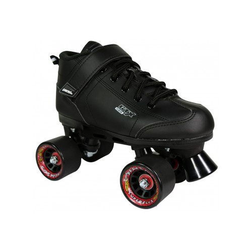 Front Facing Cosmic Cruze Indoor/outdoor Roller Skates with black wheels from Rollerskatenation