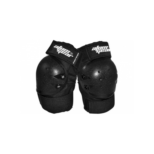 Front Facing Black Atom Elbow Pads from Roller Skate Nation