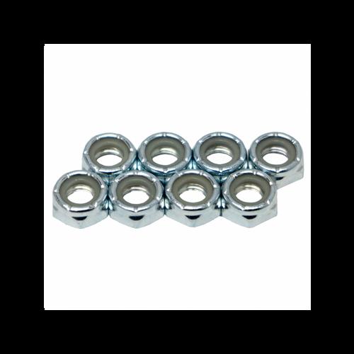 Wheel Axle Lock Nuts from Rollerskatenation