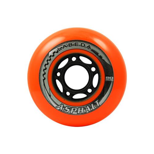 Orange Labeda Asphalt Hockey Wheels from Rollerskatenation