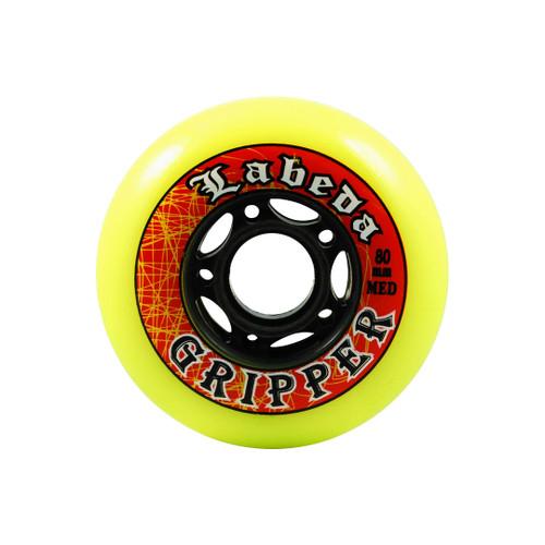 Yellow Labeda Gripper Wheels from Rollerskatenation