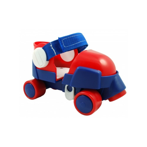 Front Facing Red/White/Blue Zippy Adjustable Toddler and Childrens Roller Skates from Rollerskatenation
