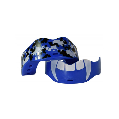 Front Facing Blue Soldier Mouth Guards from Roller Skate Nation