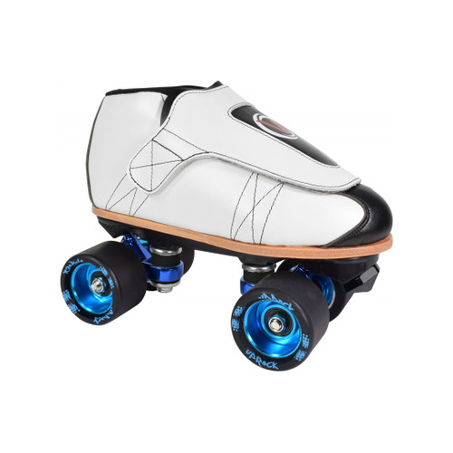 Front Facing VNLA Classic LE Pro Plus Roller Skates with black wheels From Roller Skate Nation