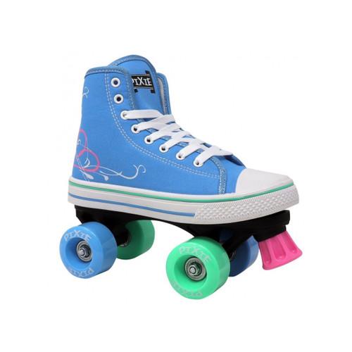 Front Facing Blue Lenexa Pixie from Roller Skate Nation