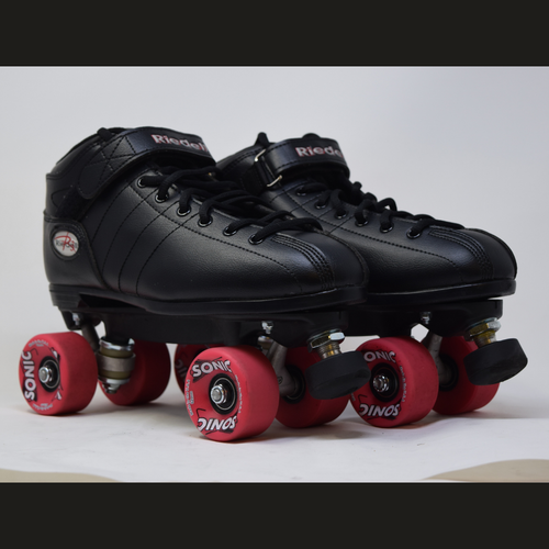 Slightly Used Riedell R3 Sonic Outdoor Roller Skates | Mens 12