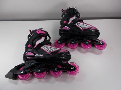 **SLIGHTLY USED** Lenexa Venus Adjustable Inline Skate , Youth Size: 4 - 7