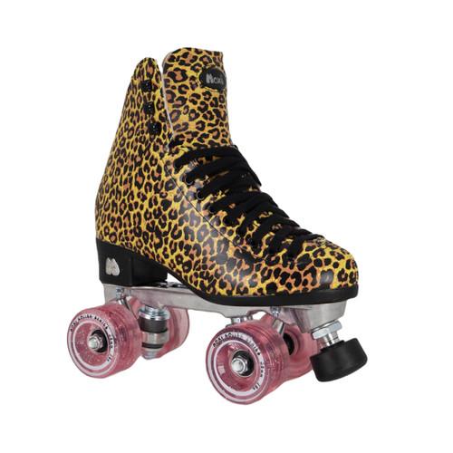 Front Facing Moxi Ivy Jungle Roller Skates  from Roller Skate Nation