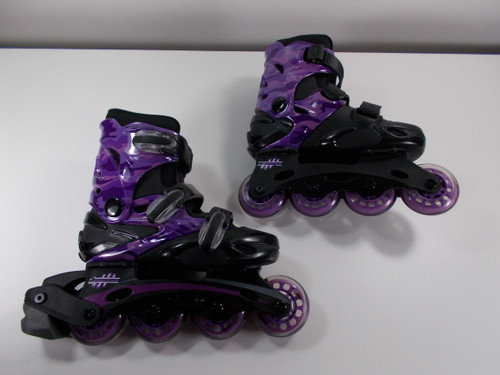 **SLIGHTLY USED** Linear Camo Inline Skate - Size Youth 2